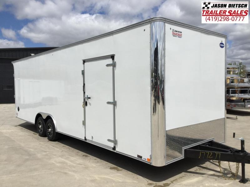 2022 United XLT 8.5X28 Enclosed Car Race Trailer Xtra Height
