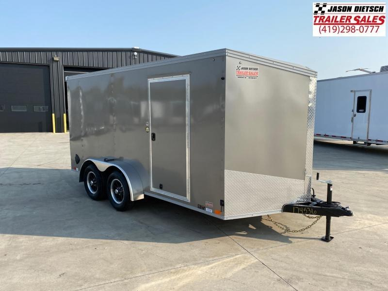 2021 United XLV 7x14 V-Nose Enclosed Cargo Trailer