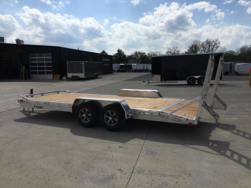 2022 Legend 7x20 *All Aluminum* Equipment/Car Trailer