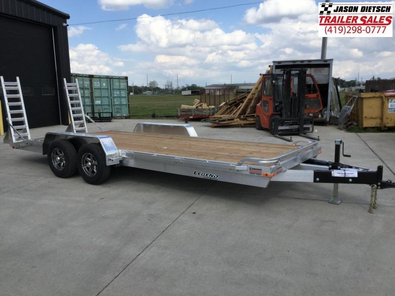 2022 Legend 7x20 *All Aluminum* Equipment/Car Trailer