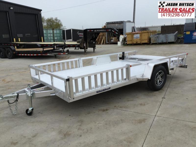 2021 Sure-Trac 7 X 14 Aluminum Tube Top ATV  3K Idler