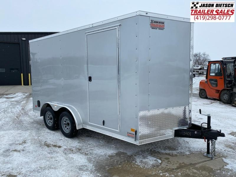 2021 Darkhorse DHW 7.5X14 Extra Height Wedge Nose Cargo Trailer