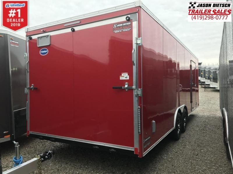 2019 United XLT 8.5X24 Car/Racing Trailer