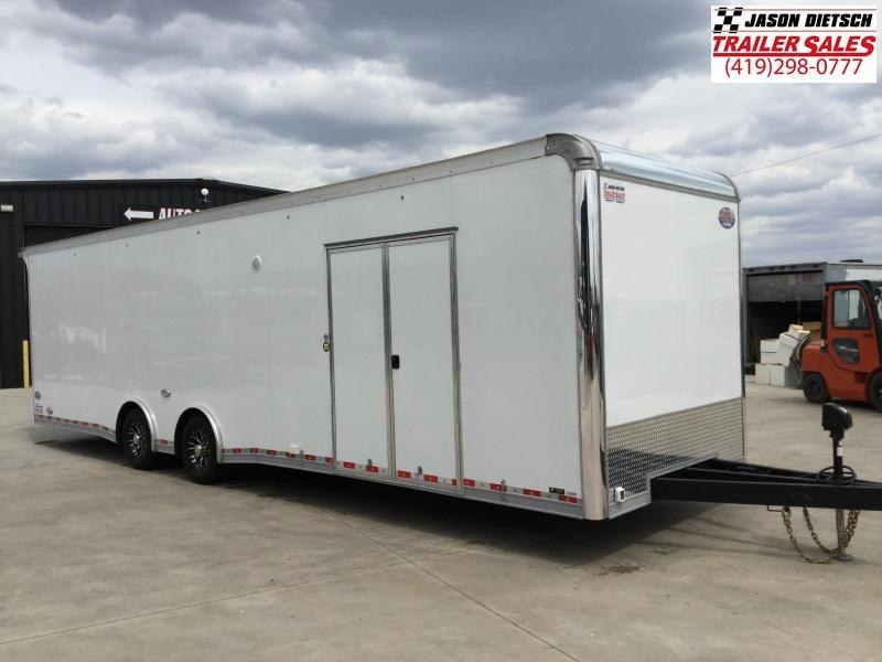 2021 United Trailers 8.5X32 EXTRA HEIGHT Car / Racing Trailer