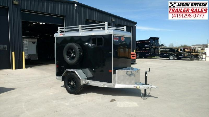 2021 Sundowner MiniGo 4X8 Extra Height Cargo Trailer