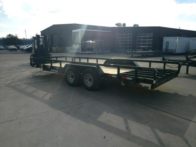 2021 Sure-Trac 7X20 Utility Trailer 10K