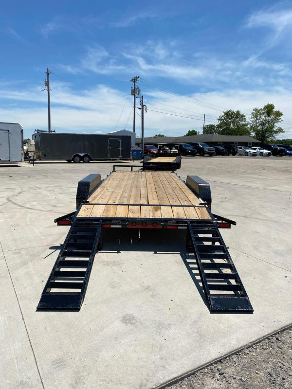 2020 Load Trail 83X20 Tandem Axle Equipment/ Car Trailer