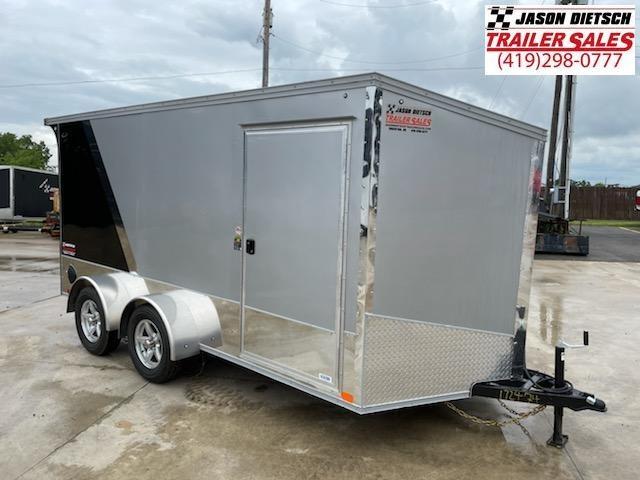2022 United Trailers XLMTV 7x14 Wedge-Nose Enclosed Car Hauler