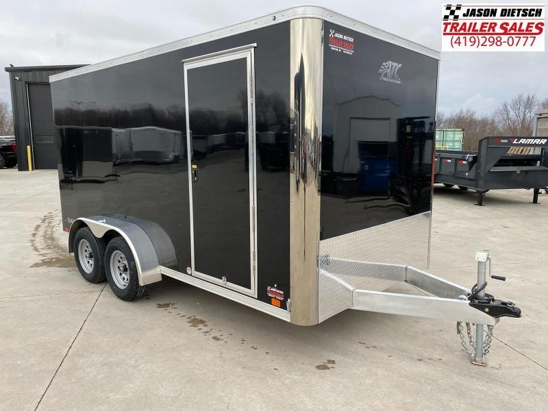 2021 ATC 7X14 ALUMINUM ENCLOSED CARGO TRAILER....STOCK # AT-1763