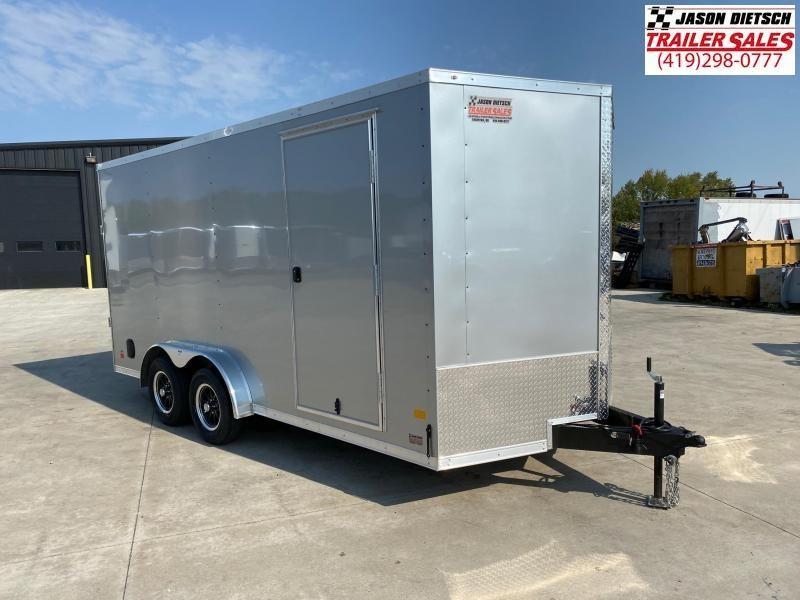 2021 Darkhorse 7.5x16 V Nose Cargo Trailer Extra Height