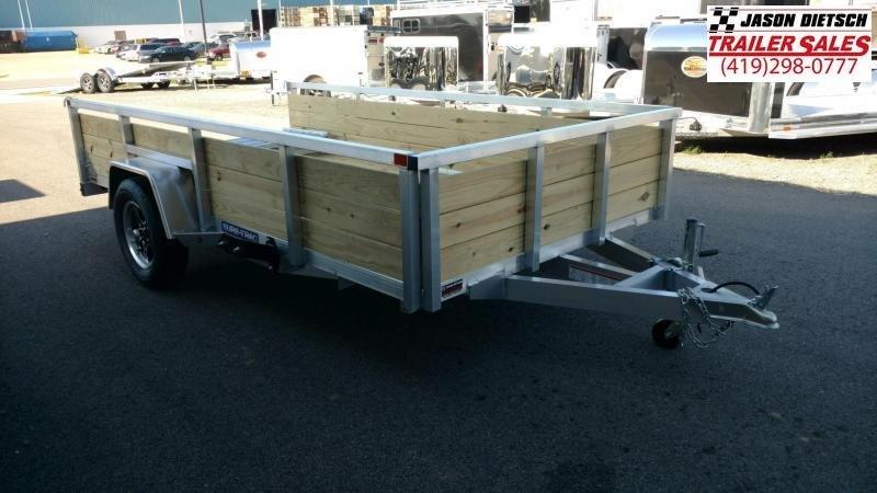 2020 Sure-Trac 6X12 Aluminum Tube Top Utility Trailer 3K