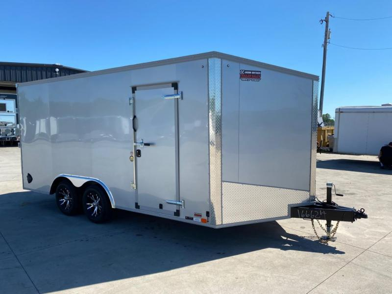 2020 United Trailers XLTV 8.5x19 Wedge-Nose Enclosed Car Hauler....Stock # UN-166624