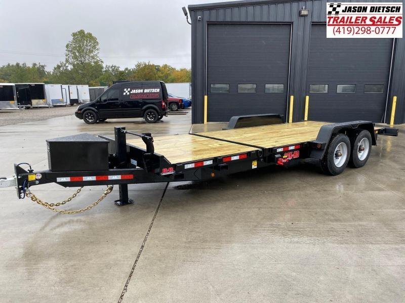 2020 Behnke 83X22 (16+6) Partial Tilt Equipment Trailer 20K