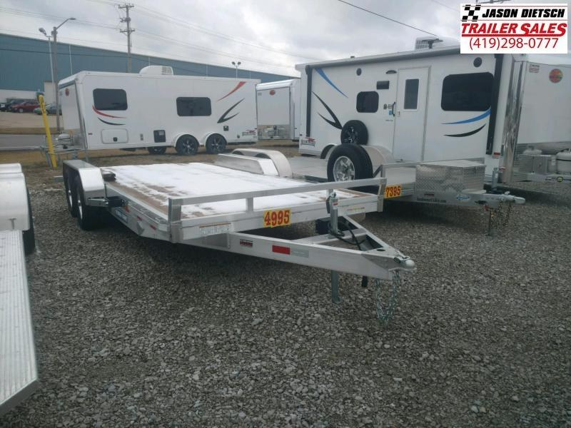 2021 Sure-Trac 7X18 Aluminum open car hauler 7K
