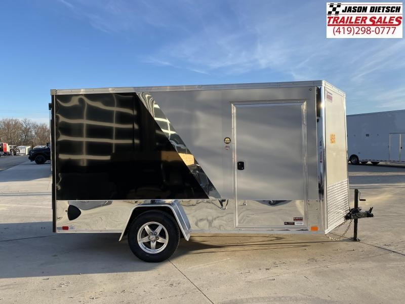 2020 United Trailers XLMTV 7X12 V-Nose Motorcycle ler