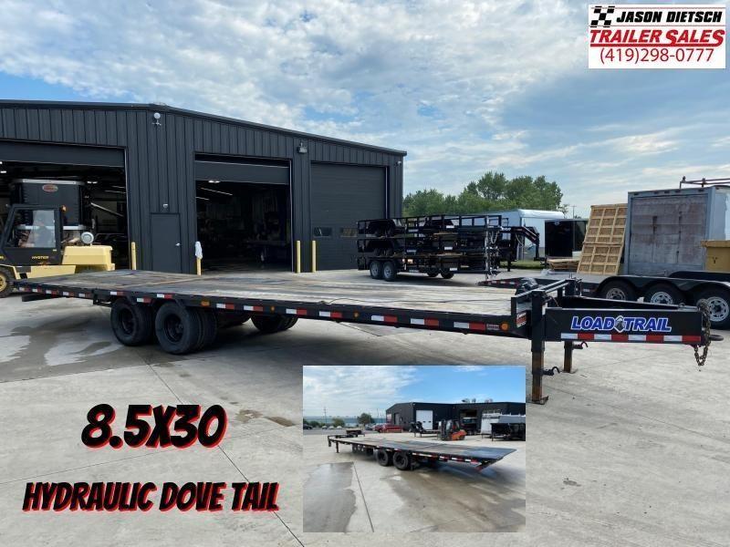2018 Load Trail 102X30 Tandem Low Pro Equipment Trailer