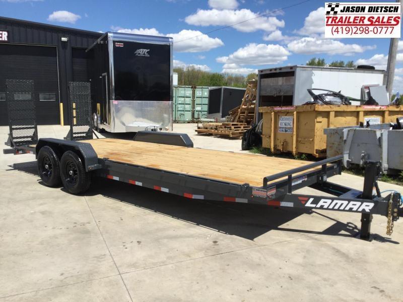 2021 Lamar 83x22 Equipment Trailer 14K