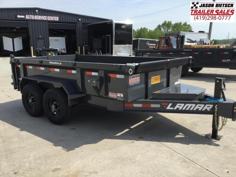 2021 LAMAR 83X12 LO-PRO Tandem Axle Dump Trailer