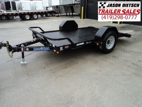 2020 Load Trail 77X12 Single Axle Scissor Hauler