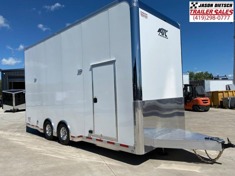 2021 ATC All Aluminum 8.5X22 Stacker