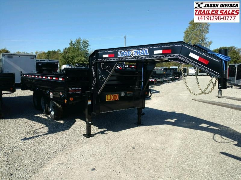 2019 Load Trail 96X16 Deck Over Gooseneck Dump Trailer