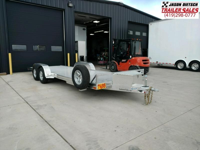 2020 Sundowner 6.9X22 Utility/Car Trailer