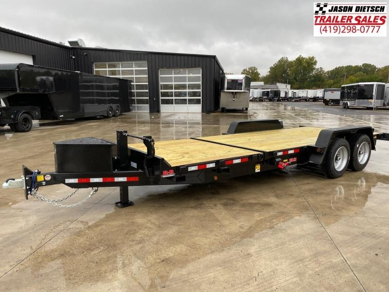 2020 Behnke 83X22 (16+6) Partial Tilt Equipment Trailer 16K
