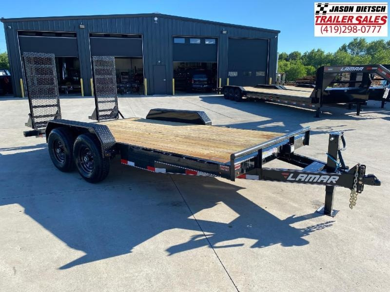 2020 Lamar 83x16 Equipment Hauler Trailer