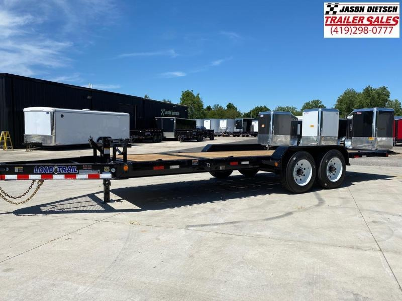 2020 Load Trail 83X20 Tilt Deck Open Equipment/Car Trailer