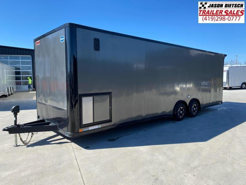2018 United XLT 8.5X28 Extra Height Car/Racing Trailer (Racers Package)