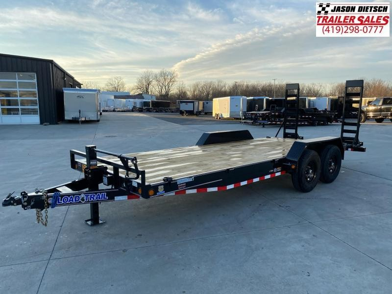 2021 Load Trail 83X20 W/ Dovetail Equipment Trailer 14K