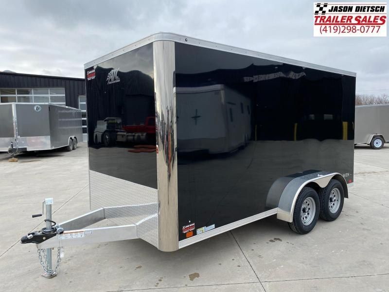 2021 ATC 7X14 ALUMINUM ENCLOSED CARGO TRAILER....STOCK # AT-1799