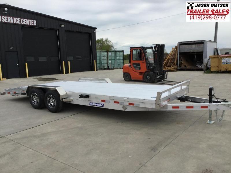 2021 Sure-Trac 7 X 22 C-Channel Aluminum Car Hau