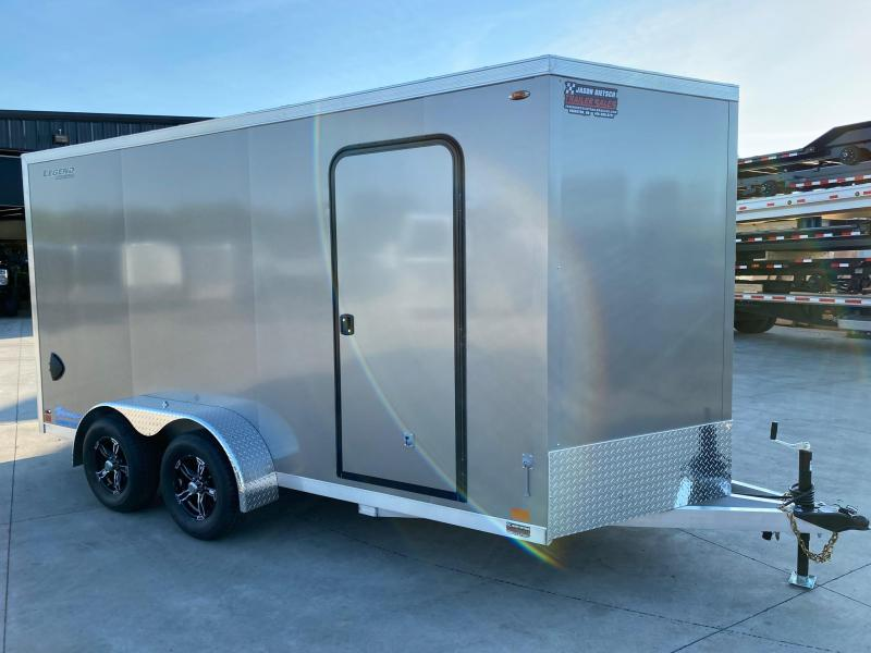 2020 Legend TVT 7X16 Cargo Trailer/ Extra Height