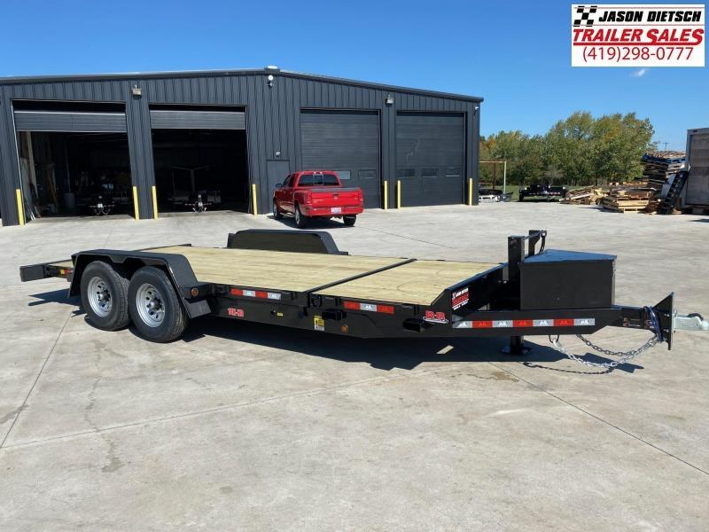 2020 Behnke 14K 83X20 Tilt Equipment Trailer