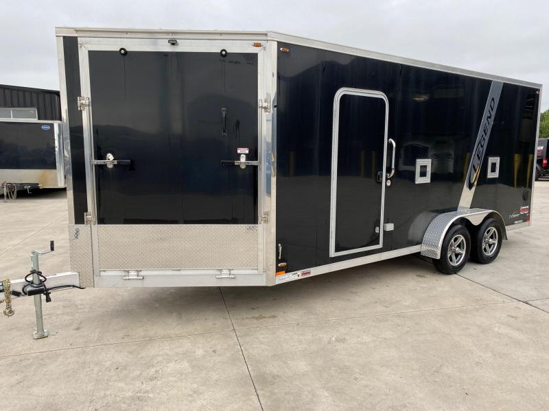 2018 Legend 7'x23' Explorer Enclosed Snowmobile/ATV Extra Height