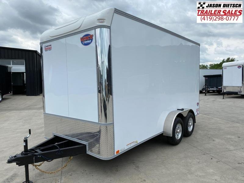 2021 United UXT 7X16 Extra Height Enclosed Cargo Trailer