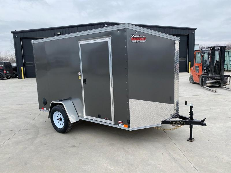 2021 United XLV 6X10 V-Nose Cargo Trailer