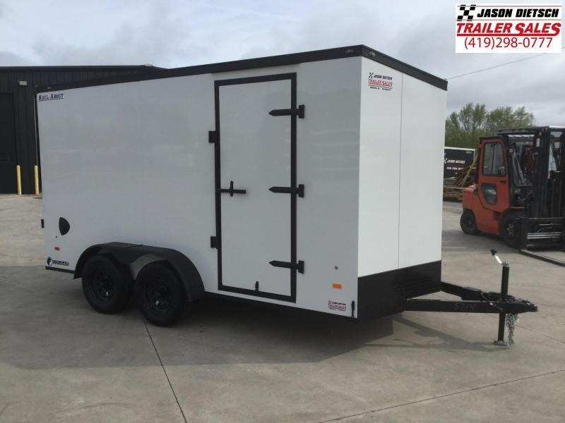 "2021 Haul About 7x14 V-Nose Cargo Trailer 6"" Extra Height"