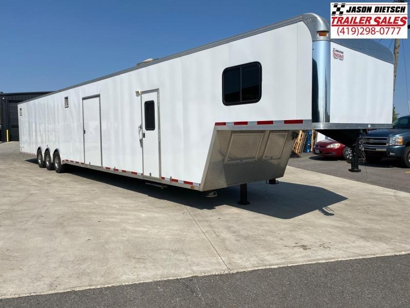 """2015 Vintage Trailers 8.5X53 Car/Race Trailer 12"""" Extra Height"""