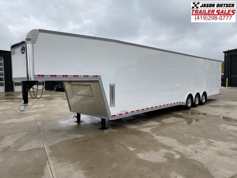 2021 United 8.5X44 Wide Body Car/Race Trailer Xtra Height