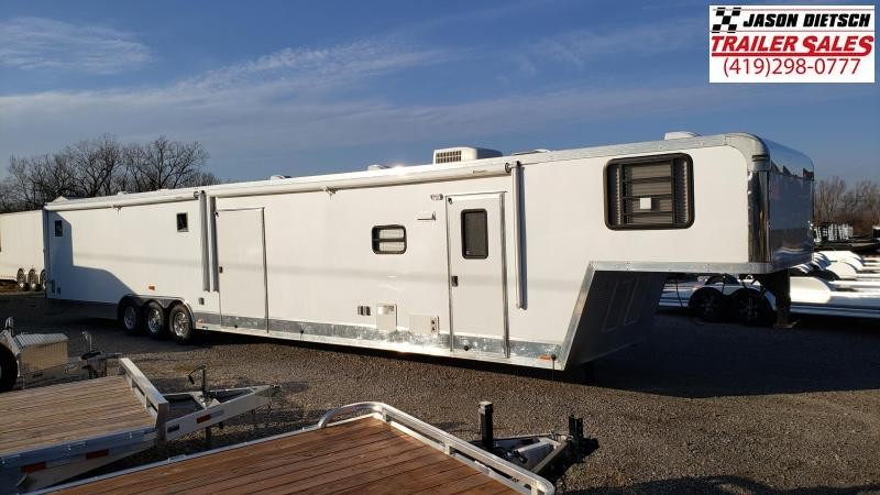 2010 ELITE Trailers 8.5X48 Extra Height Toy Hauler Trailer