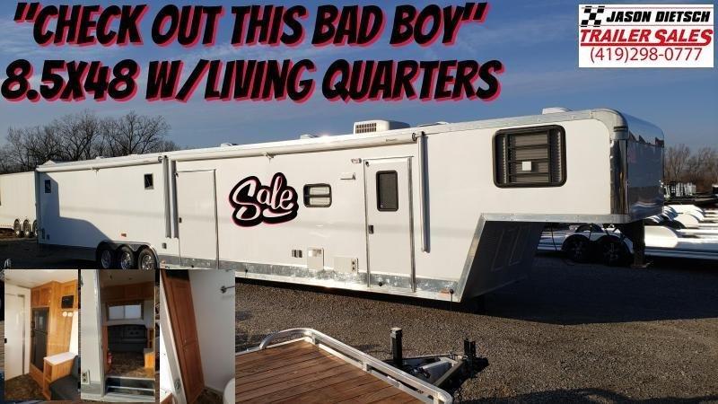 2010 Elite 8.5X48 Extra Height Car Hauler (W/Living Quarters)