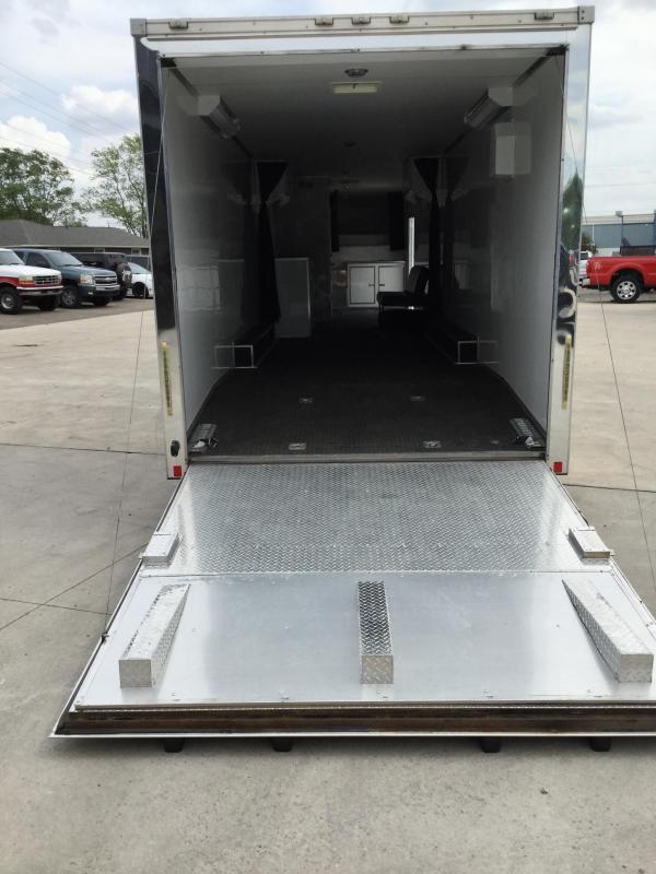 2013 CARGO MATE 8.5X48 Extra Height Car Hauler (W/Living Quarters)