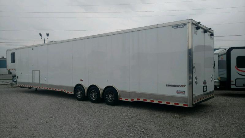 2019 CARGO MATE 8.5X48 Extra Height Car Hauler (W/Living Quarters)