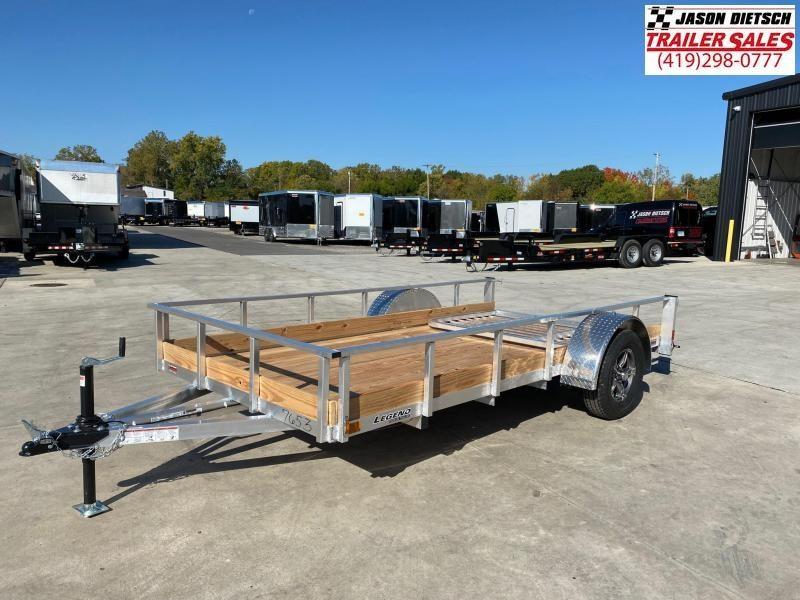 2021 Legend 6X12 Aluminum Utility Trailer