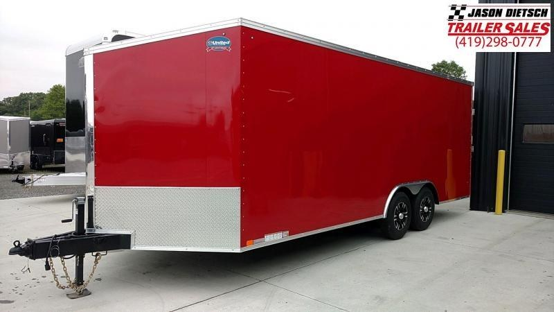2020 United XLTV 8.5X23 Enclosed Car/Race Trailer