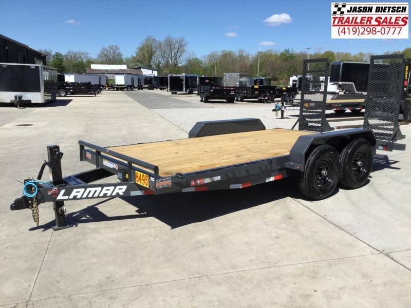 2021 Lamar 83x16 Equipment Trailer 14K