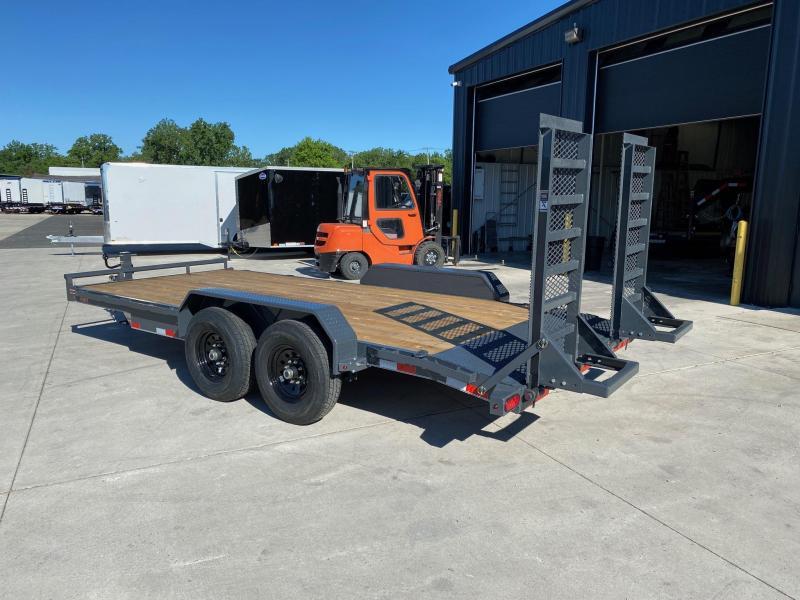 2020 Lamar 83x18 Equipment Hauler Trailer