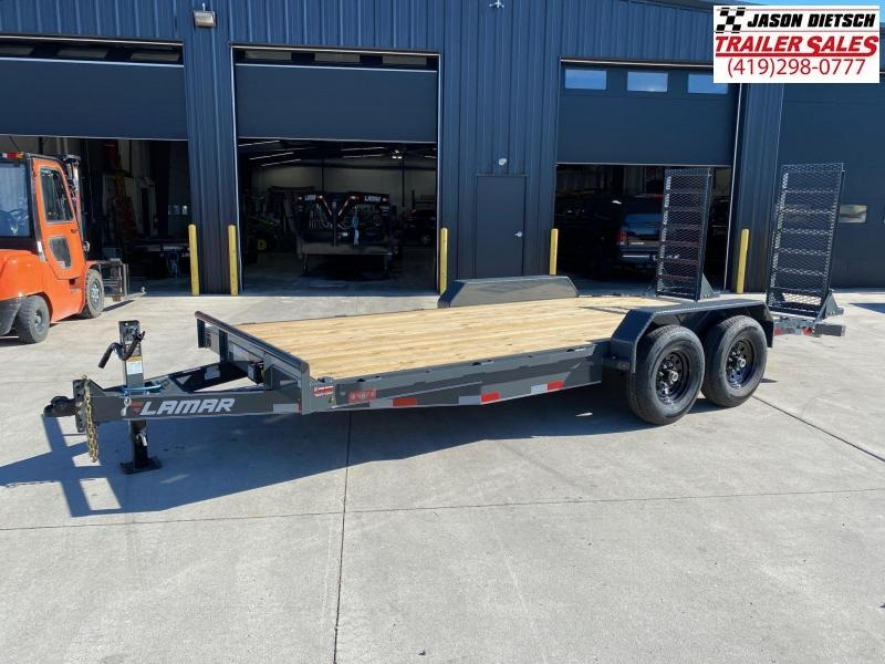 2021 Lamar 83x18 Equipment Trailer 14K